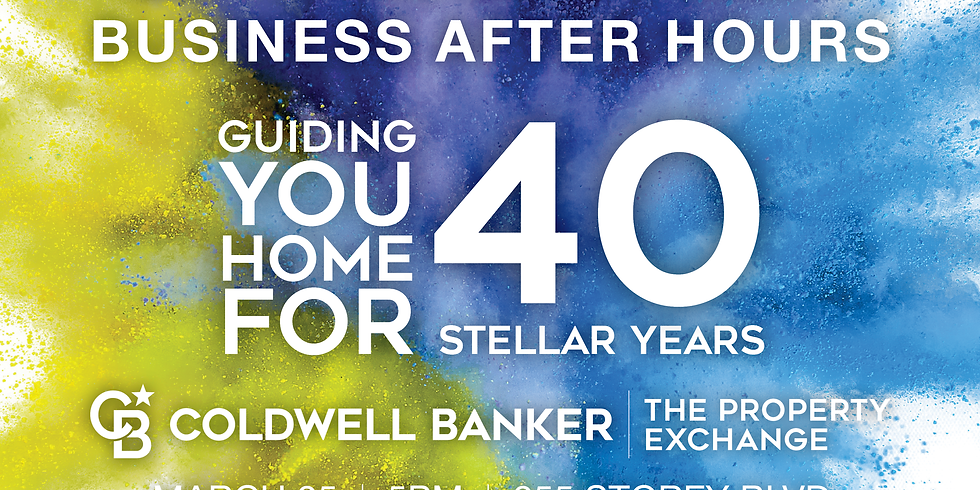 Business After Hours - Coldwell Banker The Property Exchange