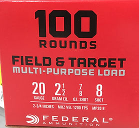 suggested ammo for  shotgun class