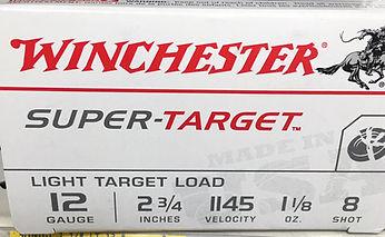 Shotgun instruction suggested ammo