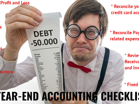 Year-end Accounting Checklist