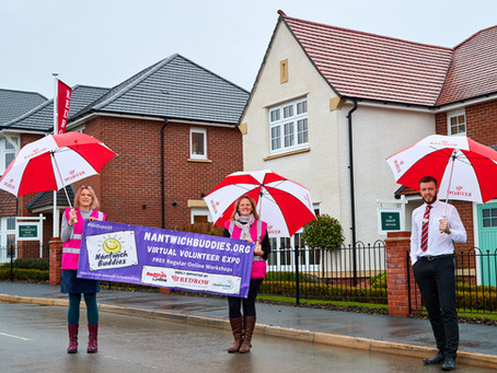 Nantwich Buddies launch website thanks to a donation from Redrow Housing