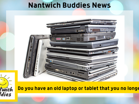 The Rotary Club of Nantwich is looking for laptops and tablets