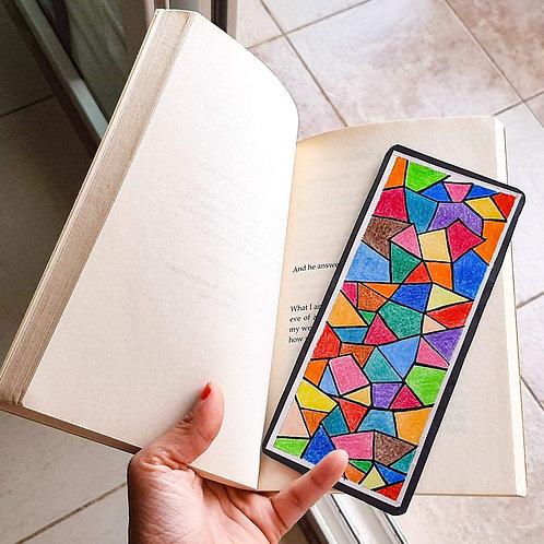 Handmade Mosaic Bookmark