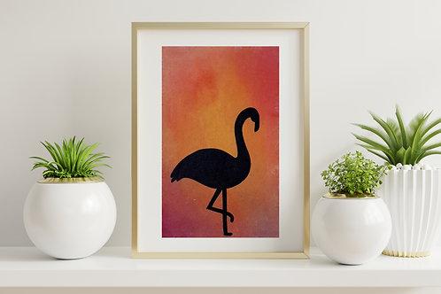 Flamingo - Silhouette Dreams