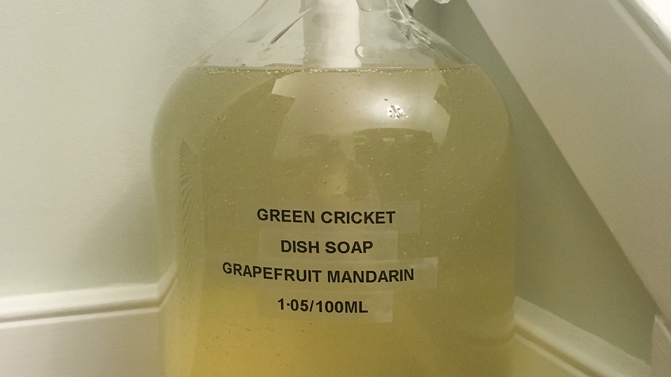 Dish Soap by Green Cricket Lifestyle