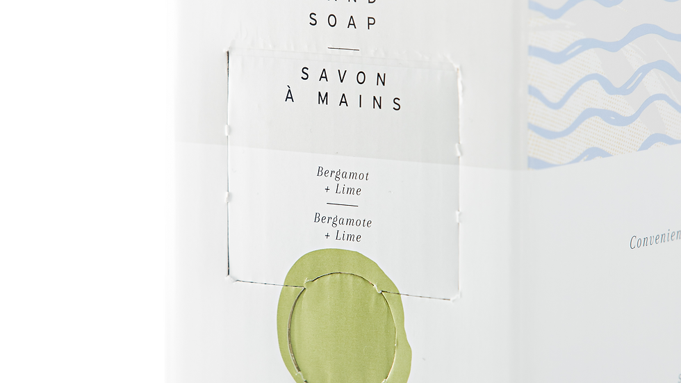 Bergamot+ Lime Hand Soap by The Bare Home