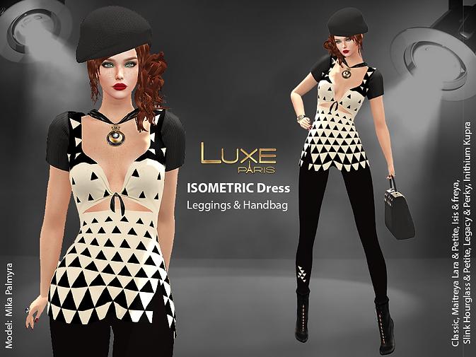 LUXE Paris ISOMETRIC Dress Leggings Handbag V2.png