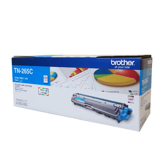 Brother TN-261C Cyan Toner Cartridge (1400 pages)