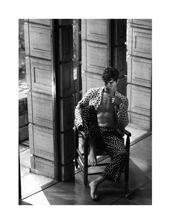 Mark Segal Vogue Hommes