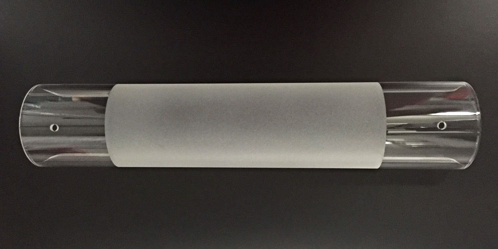 Wandlampen Glaszylinder