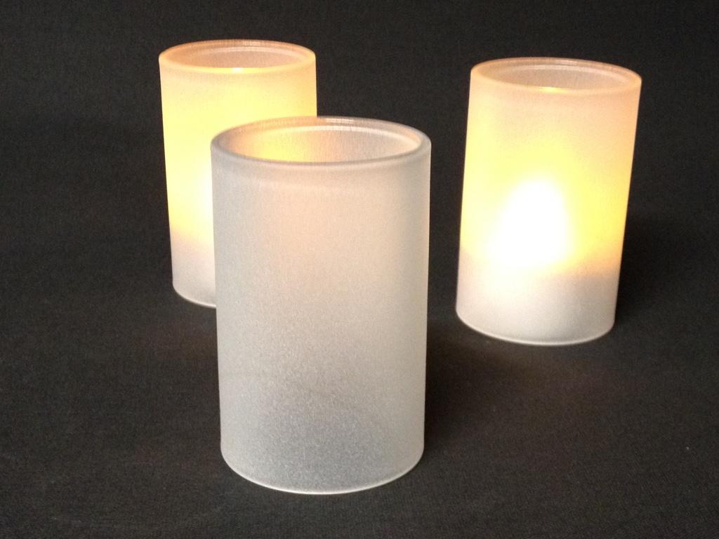 Glaszylinder sandgestrahlt
