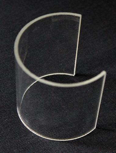 Glaszylinder Ausschnitt