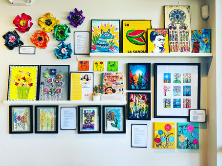 How a gallery wall can be a GREAT marketing tool!