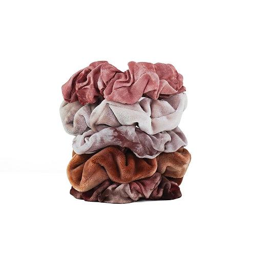 Kitch: Rust Tie Dye Scrunchies