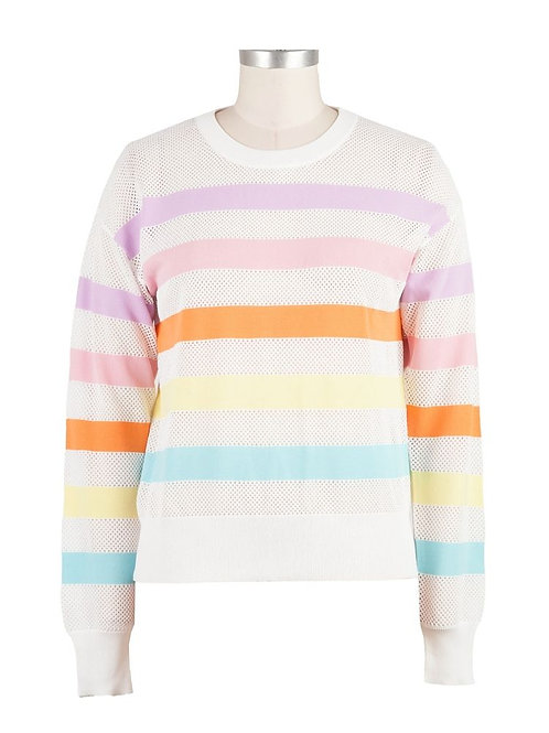 Kut from Kloth: Abriana Stripe Sweater