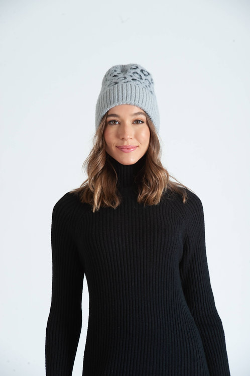 Lucca Couture: Snow Leopard Beanie