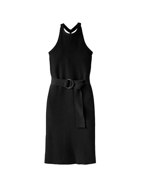 525 America: Fitted Tank Dress (black)