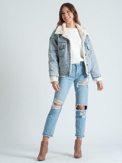 Lucca Couture: Kelsie Faux Fur Jacket
