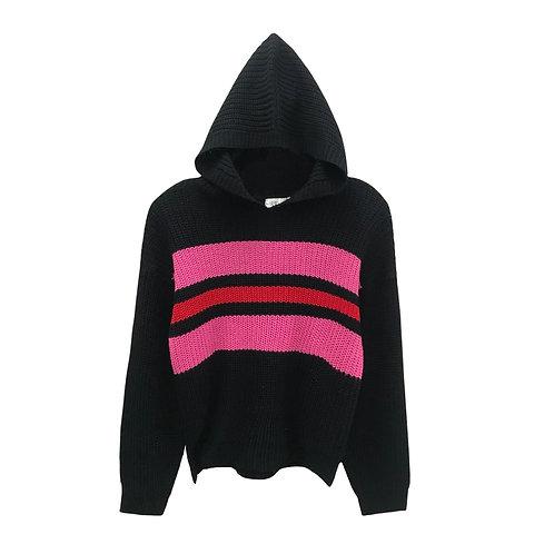 RD Style: Pink Stripe Hoodie