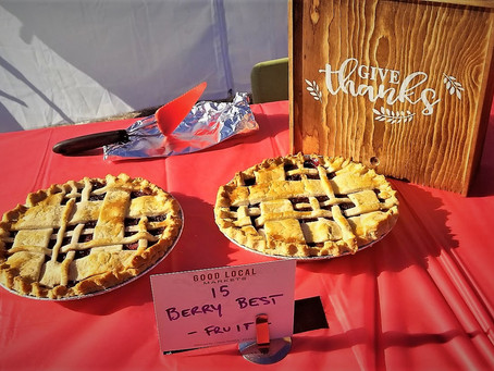 Good Local Markets 10th Annual Pie Contest