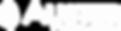 Logomarca Auster Tecnologia monocromatica branca horizontal