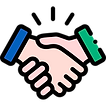 Ícone de aperto de mãos