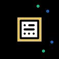 Ícone de processamento de informações