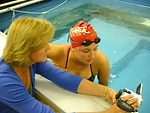 Education related to aquatic physical therapy