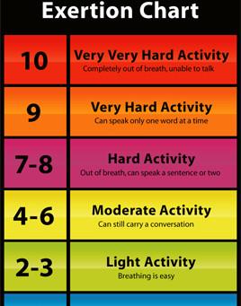 Exercising Hard Enough?