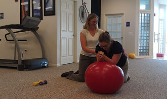 Core and balance exercises for vestibular therapy