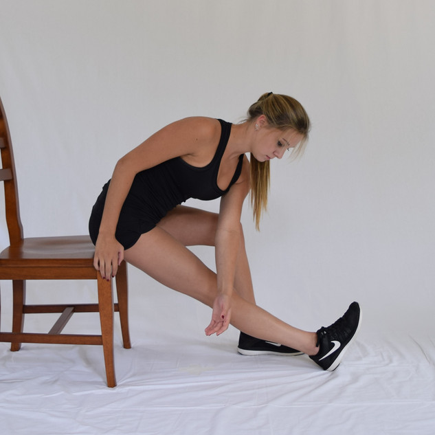 Seated Hamstring Stretch with Reaching.j