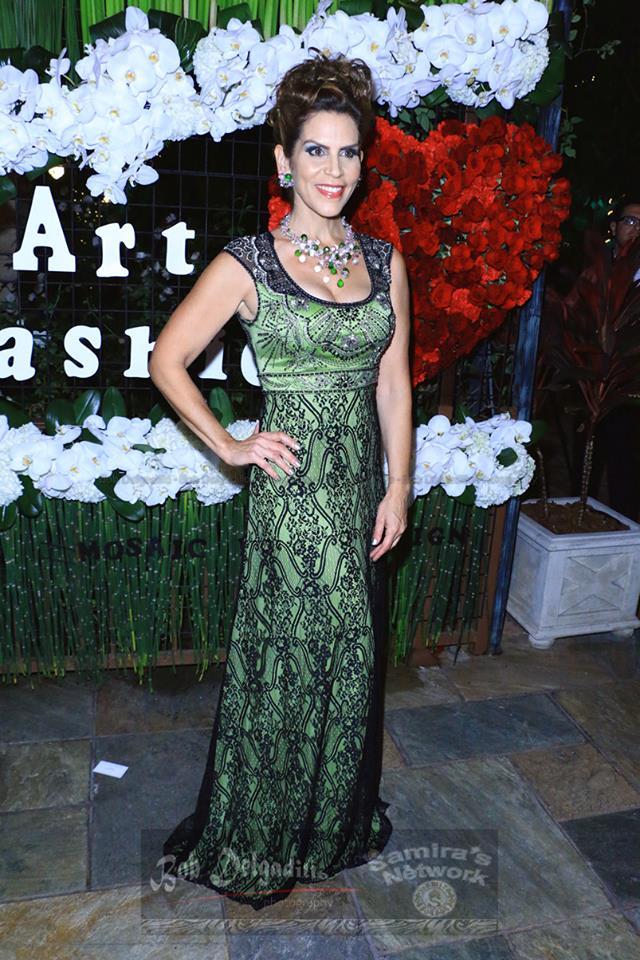 Sue Wong Fashion Show 2015