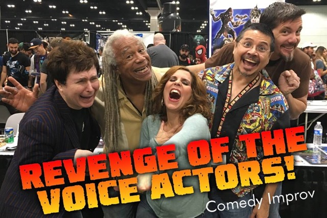Revenge of the Voice Actors
