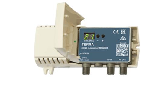 Модулятор TERRA MHD001P с блоком питания