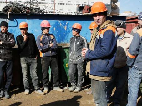 """Правительство ограничивает долю """"безвизовых"""" мигрантов, чтобы работу смогли найти граждане РФ."""