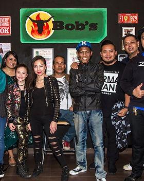 singapore berita harian gahkustik at t bob's corner with Zynal, Tengku Nur Lela, Maia Lee Singapore Idol