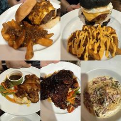 Sloppy Bob's, Mighty Burger, Chicken Chop, Lamb Shoulder, Classic Carbonara