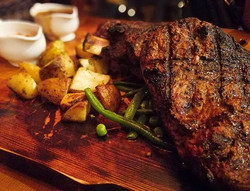 In the words of Tom Colicchio, _I think steak is the ultimate comfort food, and if you're going out