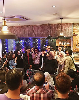 baron bros single launch with haqiem rusli and wani
