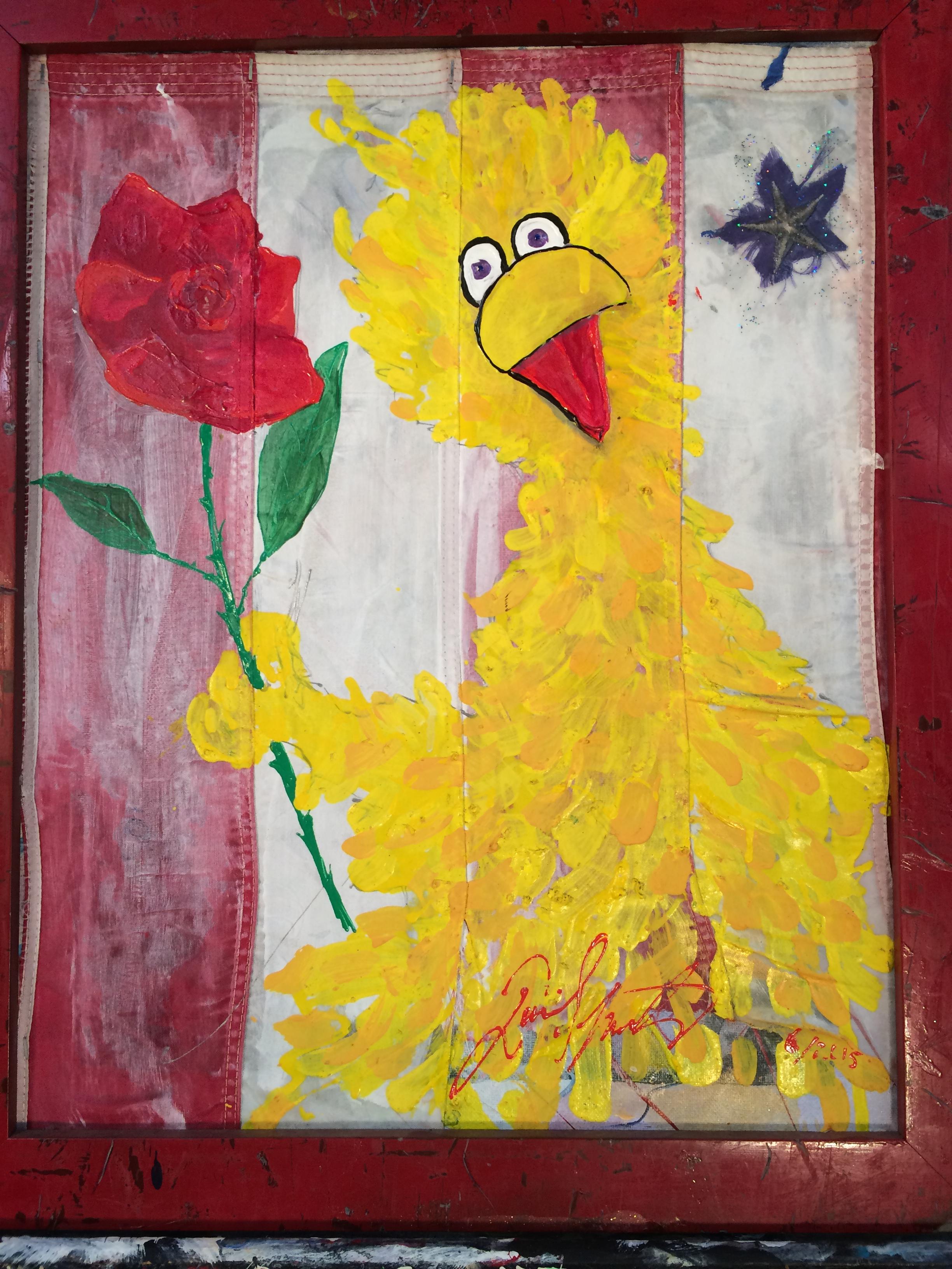 Big Bird Rose