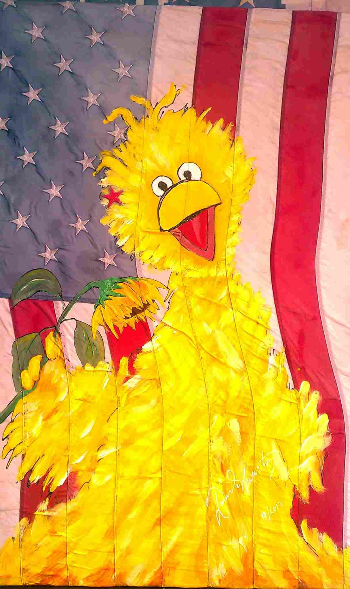 Big Bird America Acrylic
