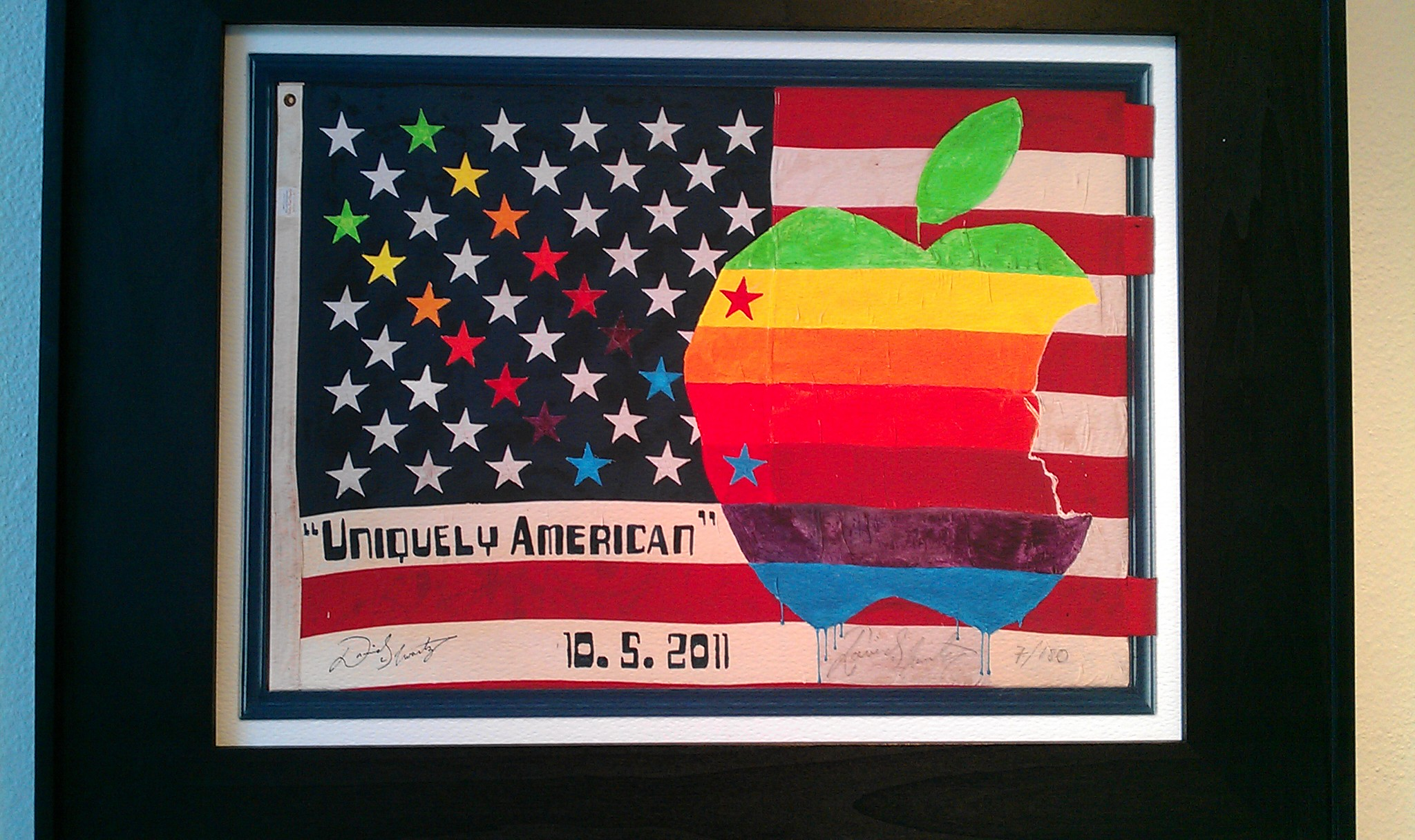 Uniquely American Framed