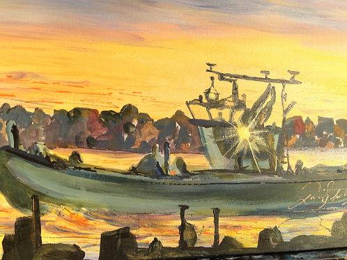 Sunrise Tugboat
