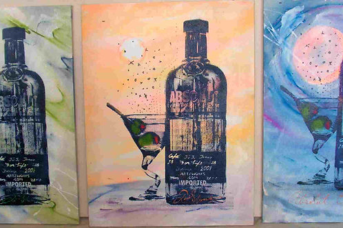 3 Absoluts (SOLD)