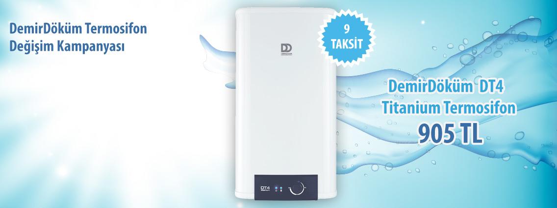 demirdöküm termosifon kampanyası