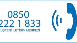 Demirdöküm Müşteri İletişim Merkezi'nin Numarası Değişiyor