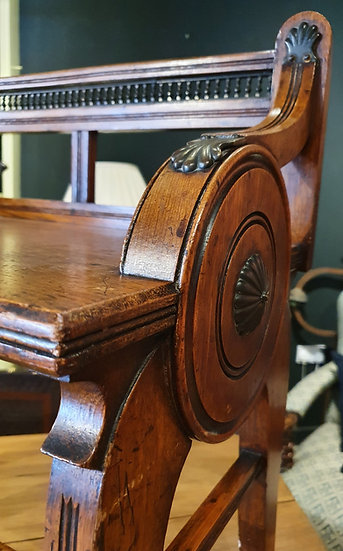 Shoolbred Hall Chair SOLD