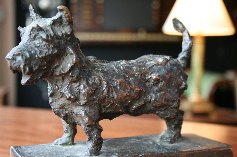 Large Bronze Westie SOLD