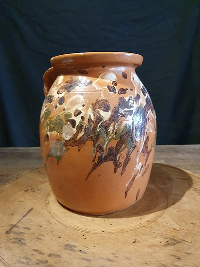 Large Marble Decorated Urn