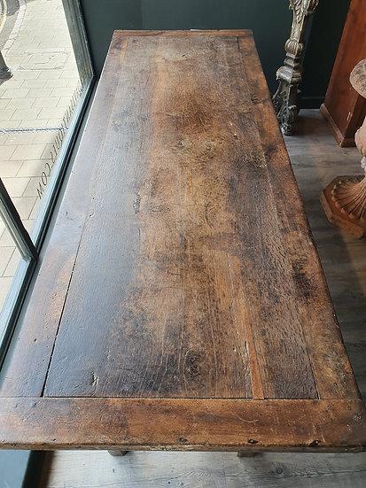 18th Century Oak Farm Table